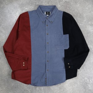 yutori original remake corduroy shirt