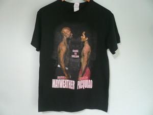 FROYD MAYWEATHER vs MANNY PACQUIAO メイウェザーvsパッキャオTシャツ / ボクシング BOXING 格闘技