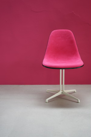 Eames Side Shell Chair La Fonda Base