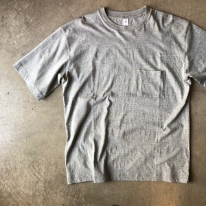 moc T モクティ 半袖 ポケット Tシャツ グレー