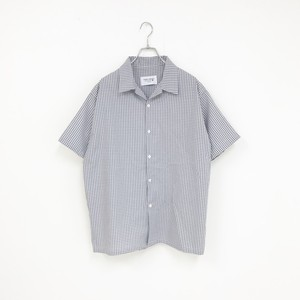 GINGHAM SHIRT(GREY)