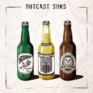 3way split 『OUTCAST SONS』(CD)