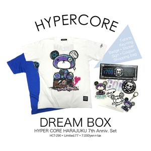 T-290 DREAM BOX -HYPER CORE 原宿店 7th Anniv.-セット