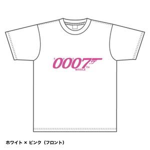 Tシャツ2018 (白xピンク)