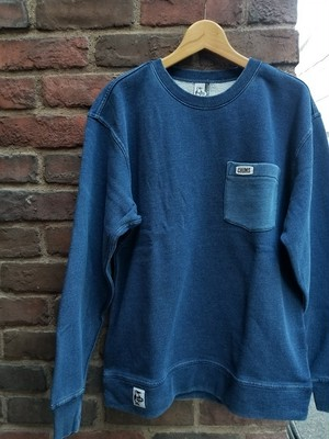 CHUMS チャムス POCKET CREW TOP INDIGO