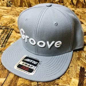 GrooveCAP(GRAY) Groove Logo