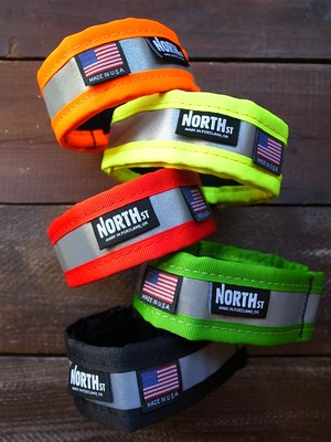 NORTH ST BAGS Reflective Ankle Strap