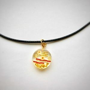和風チョーカーネックレス 和の世界 Japanese style choker necklace Small Japanese world