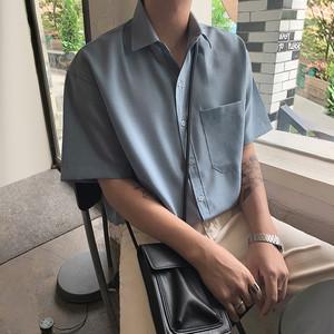 ベーシックカラーサマーシャツ BL5800