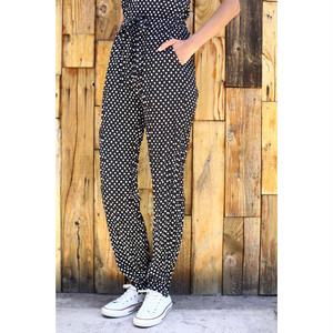 GYPSET RUCKLE PANT (dots black) TNH18100-12
