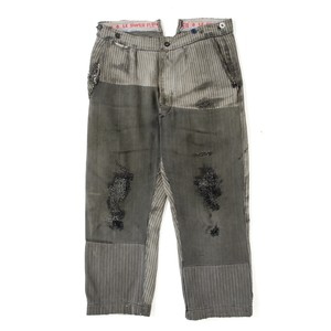 French work pique pants