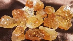 シトリン(黄水晶)タンブル S (2~3㎝10~20g)
