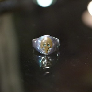Vintage Silver Ring / スカル?ヴィンテージ Sterling シルバー リング
