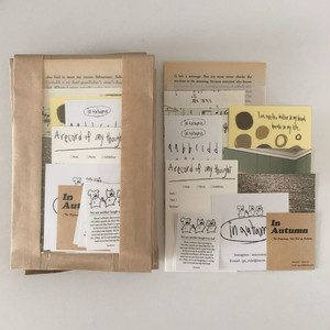 [in autumn] Diary decoration package