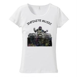 [レディースTシャツ] Infinite music