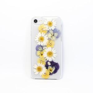 【6/6s,7,8,SE2対応】押し花 iPhone case
