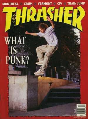 Thrasher Magazine December 1995
