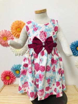 SOLBONITO ベビー用ドレス キューティーフラワー