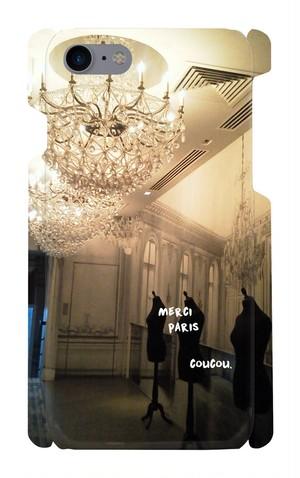 スマートフォンケース iPhon7.8対応  世界の景色 Paris メルシー