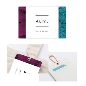 【4月中旬より順次発送】ALIVE ICカードケース