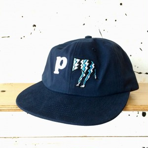 [ by Parra ] dog tail P 6 panel hat