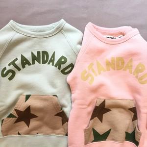 pony go round star camo pkt crew xs~xxl