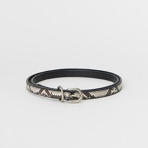 Hender Scheme 【エンダースキーマ】 python tail belt BLK