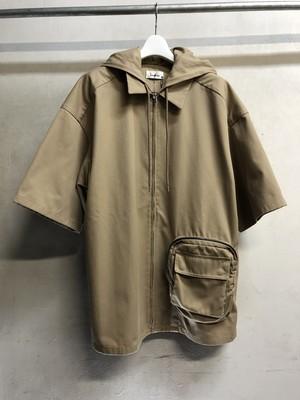 lownn / short sleeve utility hoodie