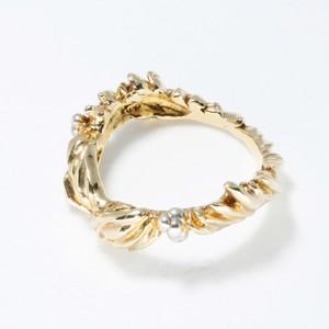 ホリデーリース ring (gold)