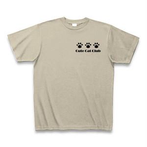 Cute Cat Club Tシャツ(アッシュ)