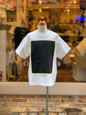 ADULT:Groovy colors 天竺STAR WINDOW BIG TEE(BLACK/150,160cm)