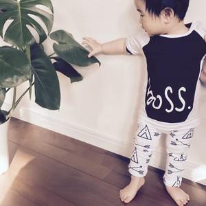 【夏服セットアップ】子供服 上下セット 70~80 Tシャツ