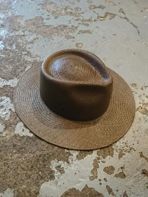 "NEXUS Ⅶ "" TROPICAL ARMY PANAMA HAT"" Brown Color"