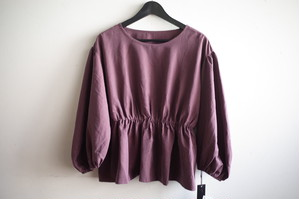 CYNICAL/ピーチ起毛ギャザーpullover