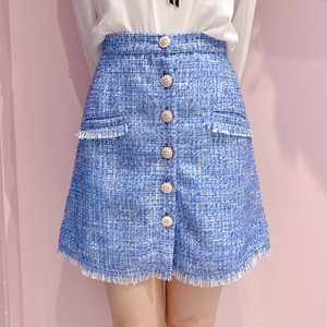 【Sister Jane】Bubblegum Tweed Mini Skirt