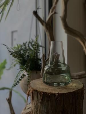 グリーンガラスボトルA