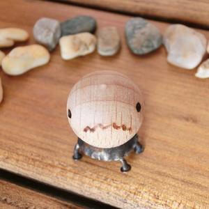 【 カメ 】d  オーナメント 真鍮 木 #1385