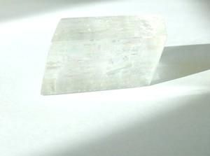 「オプティカル カルサイト(クリア) レインボー入り」 透明結晶 大サイズ 約88g