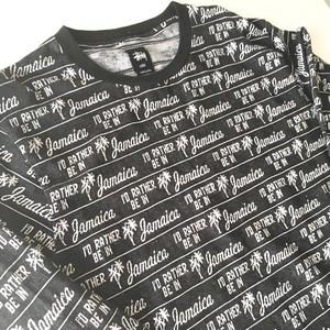 STUSSY : 「Jamaica」 jacquard cut & sewn (used)