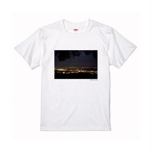 【寄付対象】【CHIKUGO百景】高良山からの夜景Tシャツ(送料無料)