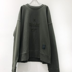 ODEUR studios SUPERIOS SWEAT olive