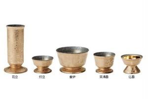 【仏具】荘巌(そうごん)五具足 有田焼