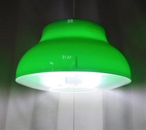 レトロな蛍光灯照明【グリーン】(0919301160)