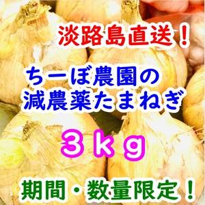 【産直!】淡路島たまねぎ3㎏