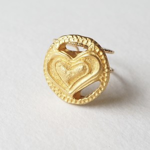 314.Vintage button ring