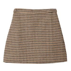 【10月中下旬発送】チェック柄スカート18091614