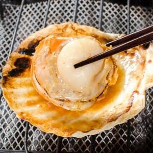 BBQやお家で簡単!『ホタテ片貝』エアブラスト凍結で使いやすい★