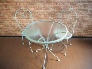 品番TS-005 ガーデンテーブル&チェア / Garden Table & Chair