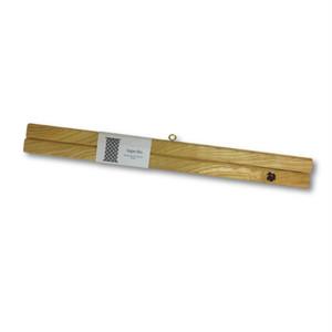 木製 タペストリー棒 tape-bo 限定品 欅(けやき)白太