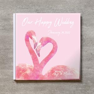 Pink Flamingo_250SQ_20ページ/40カット_クラシックアルバム(アクリルカバー)